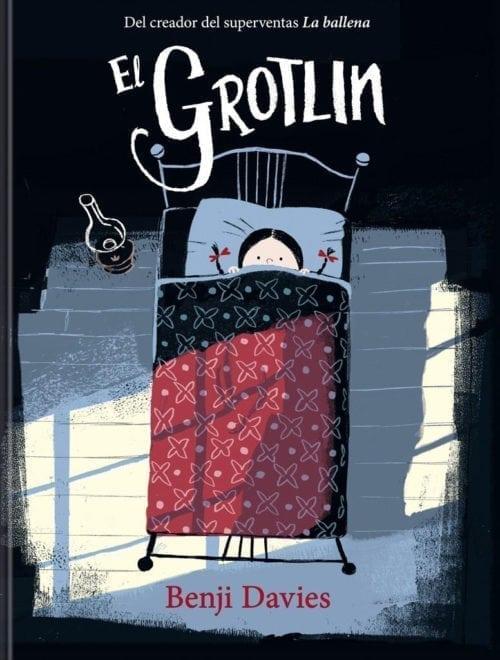 ¿Quién es el Grotlin? ¿Qué misterio se esconde detrás de este curioso nombre? Estos y otros misterios se esconden en el nuevo álbum ilustrado de Benji Davies.