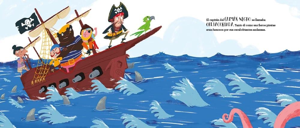 El capitán Orejacortada pondrá pruebas muy difíciles a Daniela. ¿Conseguirá ser pirata en el Caimán Negro?