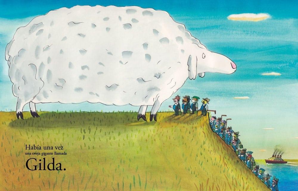 la oveja gigante