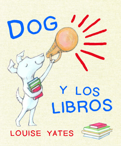 ¿Por qué son importantes los libros y la lectura? A Dog le encantan los libros sobre dinosaurios y sobre extraterrestres. De hecho