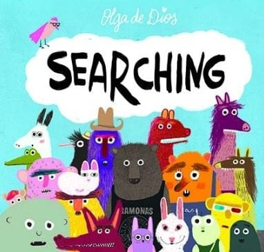 SEARCHING is a book created to help children learn to see and appreciate what they have around them instead of searching for what is elsewhere or faraway.