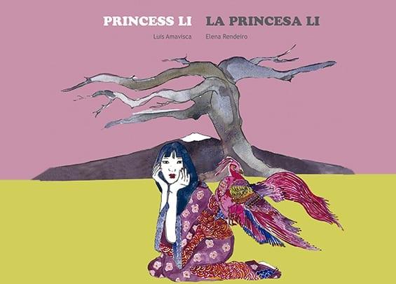 La princesa Li vivía con su padre