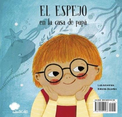"""Este libro tiene dos historias. Puedes abrir el libro por la parte de """"la casa de papá"""" o la de """"la casa de mamá""""."""
