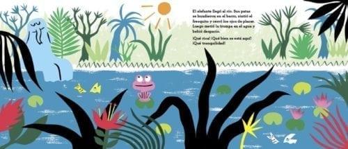 Un concurso de pedos en la jungla