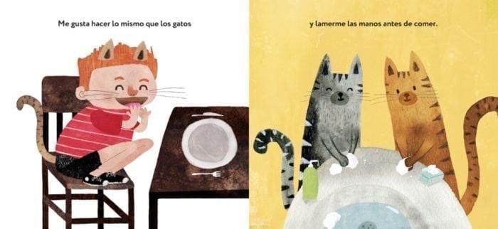 Un álbum hilarante para reflexionar sobre los hábitos y costumbres donde animales y humanos se intercambian los papeles.