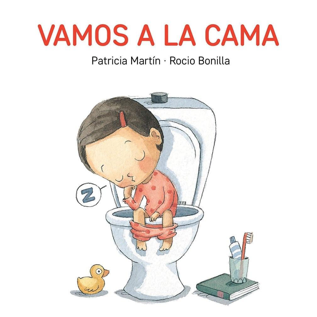 Un precioso libro mudo de cartón para que los más pequeños aprendan rutinas y situaciones cotidianas.