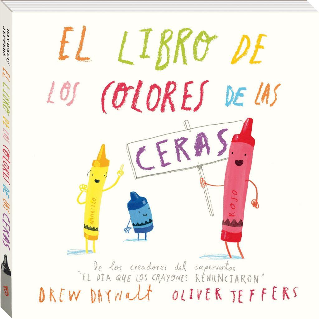 """De los creadores del superventas """"El dia que los crayones renunciaron"""" llega un nuevo libro de cartón para descubrir el maravilloso mundo de los colores a los jóvenes lectores."""