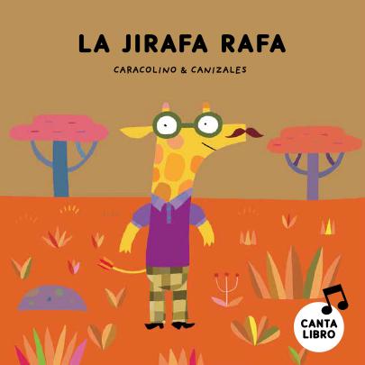 La jirafa se llama Rafa,