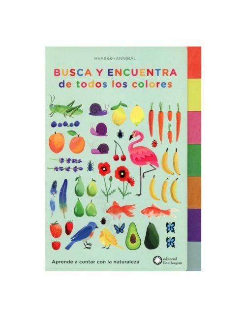 Aprende de manera divertida a contar del uno al diez de la mano de la naturaleza. Ve pasando las pestañas para descubrir todos los colores de arcoíris y setenta palabras que ver y decir.