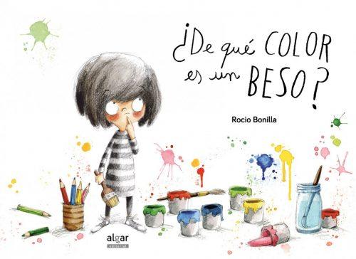 A Minimoni le encanta pintar mil cosas de colores: mariquitas rojas