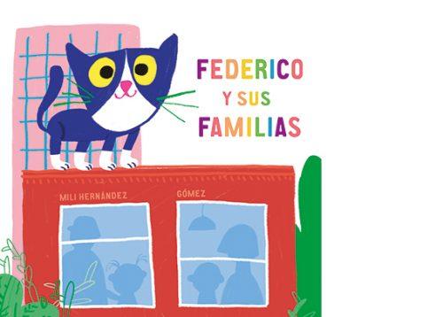 El gato Federico visita de tejado en tejado a todas sus familias. A Tadeo