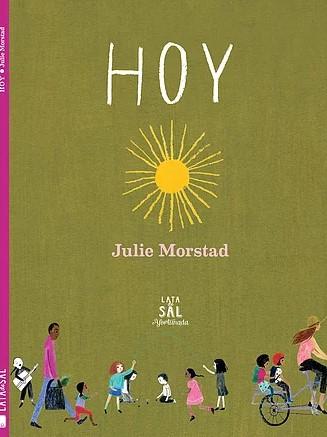En el día de hoy todo es posible para una niña soñadora y fuerte como la de este precioso libro. Con una ilustración que recuerda a los maravillosos libros de Gyo Fujikawa de los '60