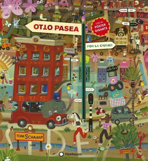 detalles y humor. Incluye un mapa para que los niños y niñas puedan navegar por el libro y adentrarse en el microcosmos de la ciudad. Un álbum lleno de bromas
