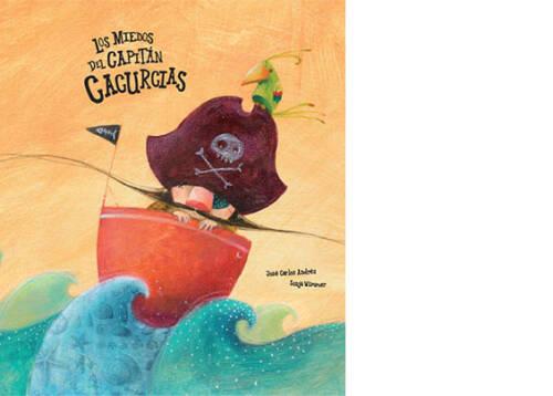 El capitán Cacurcias era el más valiente de todos los piratas