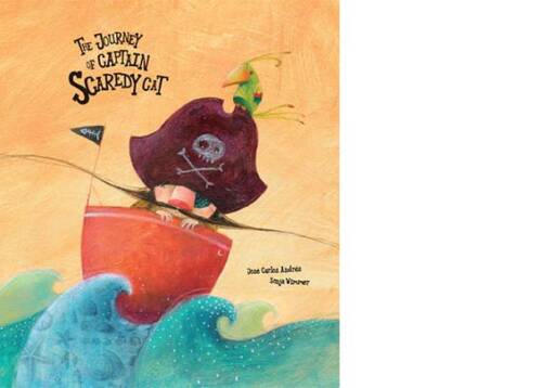 Captain Scaredy Cat was the most daring of all pirates