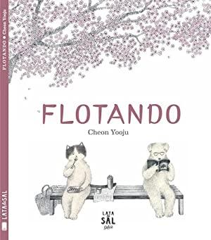 El idilio de dos gorriones sobrevuela de principio a fin en este delicado libro ilustrado. Un libro sobre las cosas que flotan: las hojas