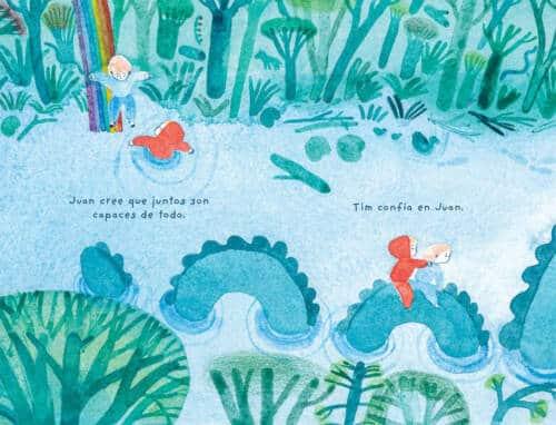 autora del exitoso abecedario Hoy me siento. Juan Timonel es una historia entrañable entre dos amigos tan distintos como inseparables. A través de bosques