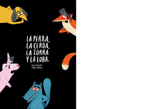 La perra está de bajón… Nos recuerda que esto no es un libro infantil. —Oye